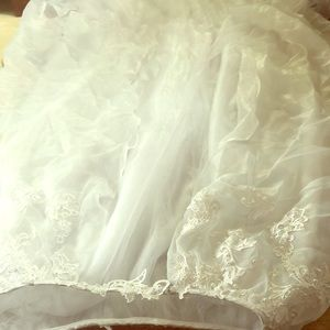 Dresses & Skirts - Wedding dress train